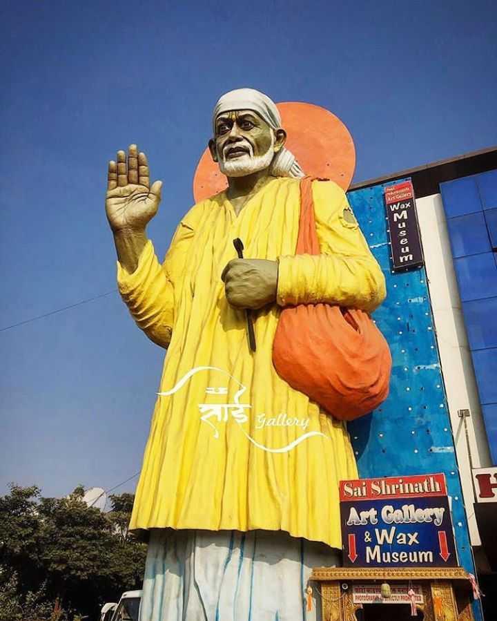 मेरे साई बाबा  - Gallery Sai Shrinath Art Gallery & Wax Museum HETEN CUTIONED - ShareChat