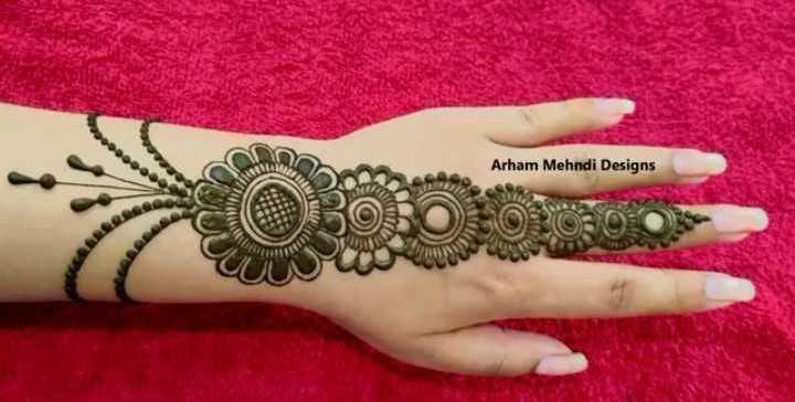 👐 मेहंदी डिजाइन - Arham Mehndi Designs - ShareChat