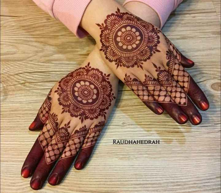👐 मेहंदी डिजाइन - 0 VIRU 1111110 mu RAUDHAHEDRAH - ShareChat