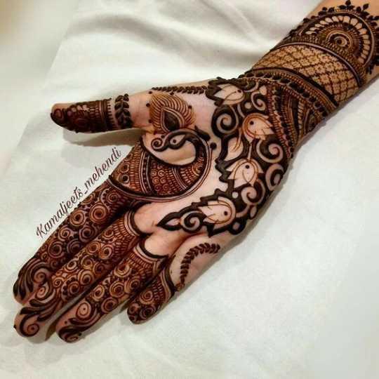 👐 मेहंदी डिजाइन - Kamaljeets mehendi - ShareChat