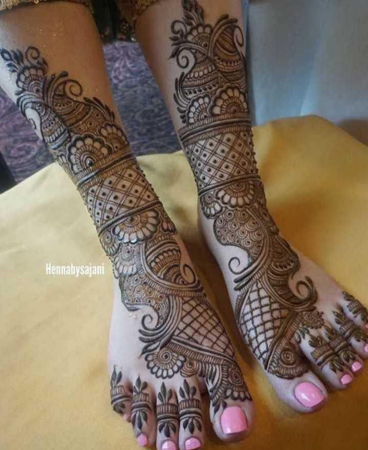 👐 मेहंदी डिजाइन - Hennalysajani - ShareChat