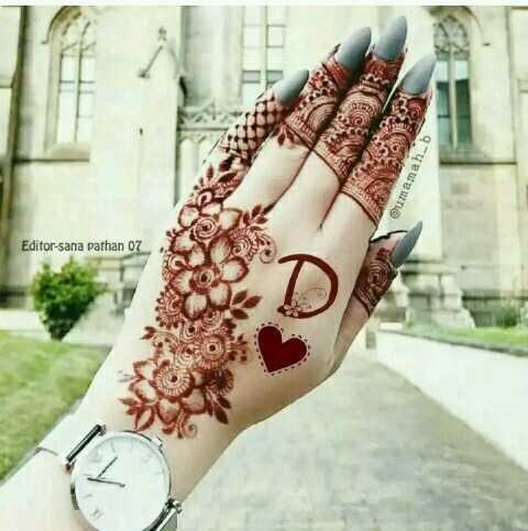 👐मेहंदी डिजाइन - @ umamah . b Editor - sana pathan 07 - ShareChat