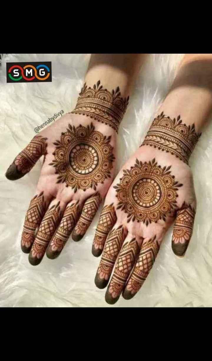 👐 मेहंदी डिजाइन - SMG @ hennabydivya - ShareChat
