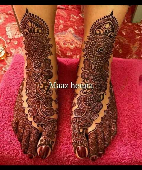 🔅मेहंदी - Maaz henna - ShareChat
