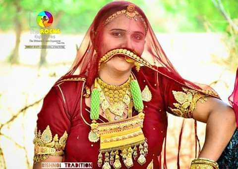 म्हारो राजस्थान - ROCK BISHNOI TRADITION - ShareChat