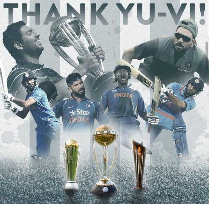 💐युवराज सिंह निवृत्ती - ANK YU - VI ! INDIA Star DIA - ShareChat