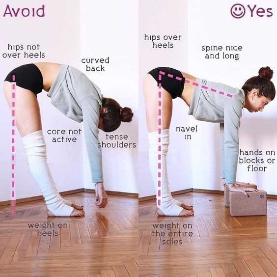 योगा - Avoid Yes hips over heels hips not over heels spine nice and long curved back core not active navel in tense shoulders hands on blocks or floor weight on heels weight on the entire soles - ShareChat