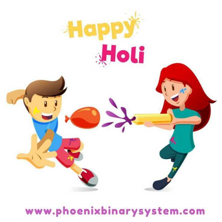 🌈 रंग होली के - Happy Holi www . phoenixbinarysystem . com - ShareChat