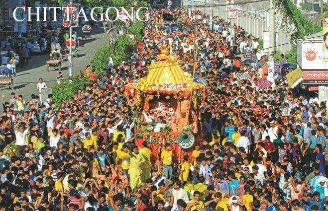 रथ यात्रा - CHITTAGONG गाव cि - ShareChat