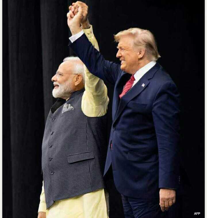 📺 राजनीतिक चर्चा- हाउडी मोदी - AFP - ShareChat