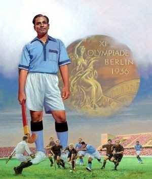 🎯 राष्ट्रीय खेल दिवस - OLYMPIADE BERLIN 1936 - ShareChat