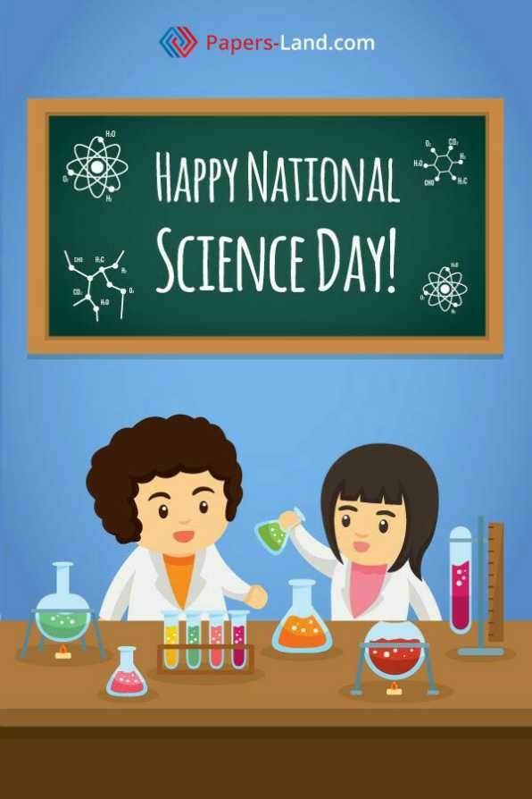 🧪राष्ट्रीय विज्ञान दिवस - Papers - Land . com Strona HAPPY NATIONAL * SCIENCE DAY ! UUUU - ShareChat