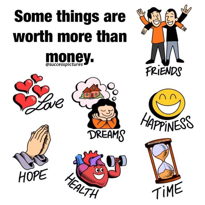 😏 रोचक तथ्य - Some things are worth more than money . @ successpictures SBB DREAMS @ successpictures HEALTH - ShareChat