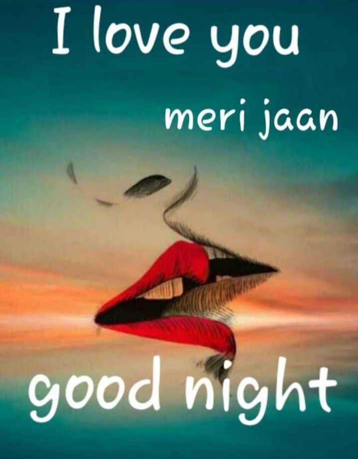 🎶 रोमांटिक गाने - I love you meri jaan good night - ShareChat