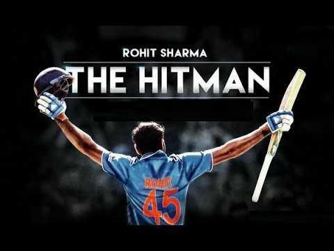 🏏रोहित शर्मा - ROHIT SHARMA THE HITMAN IRON - ShareChat