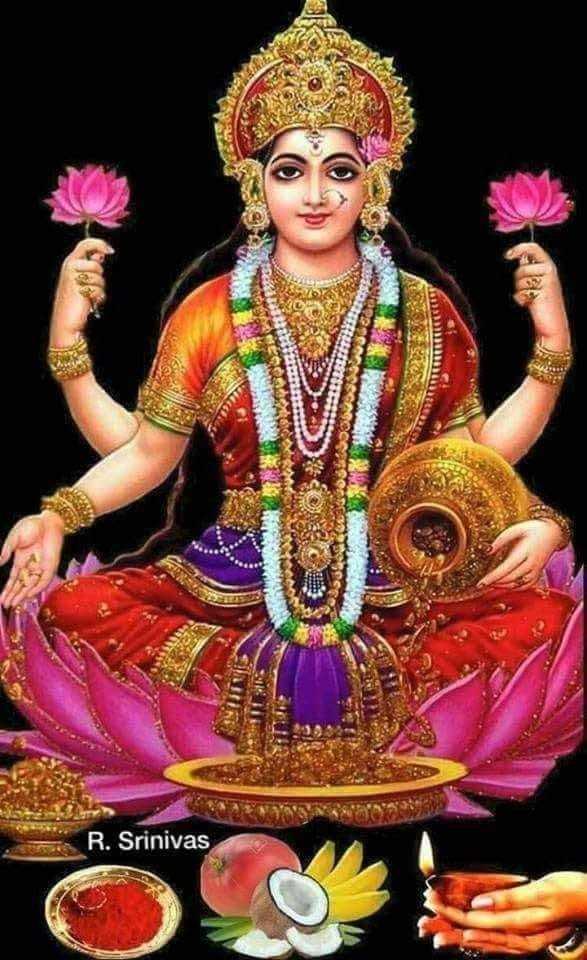 लक्ष्मी पूजा - R . Srinivas - ShareChat