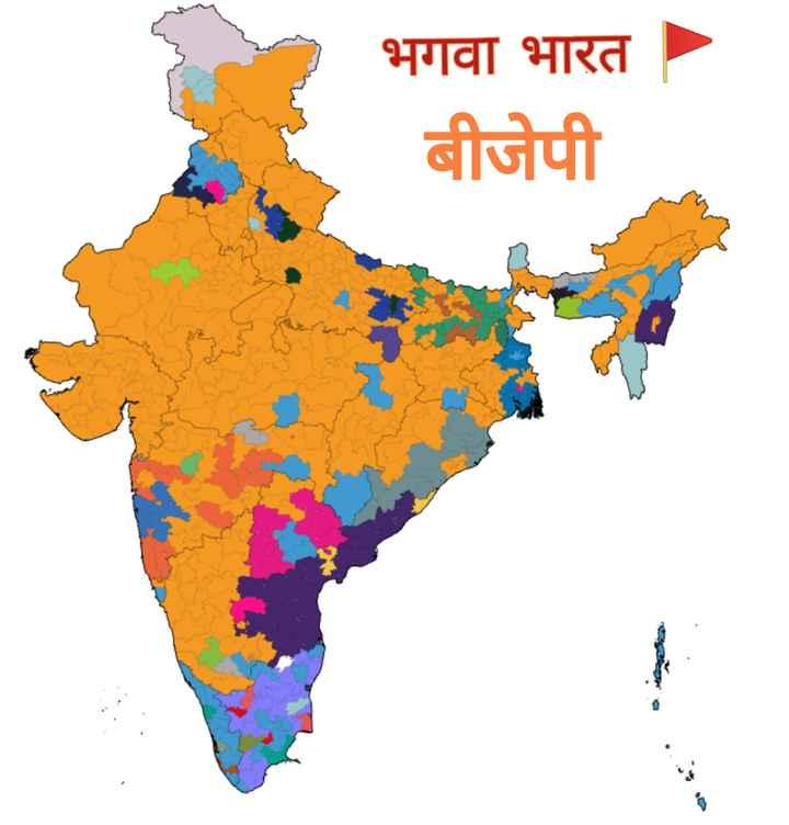 🗳 लोकसभा चुनाव 2019 - भगवा भारत । बीजेपी - ShareChat