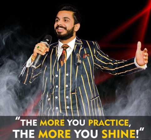 लोगों के लिए सीख🤗🙂 - THE MORE YOU PRACTICE , THE MORE YOU SHINE ! - ShareChat