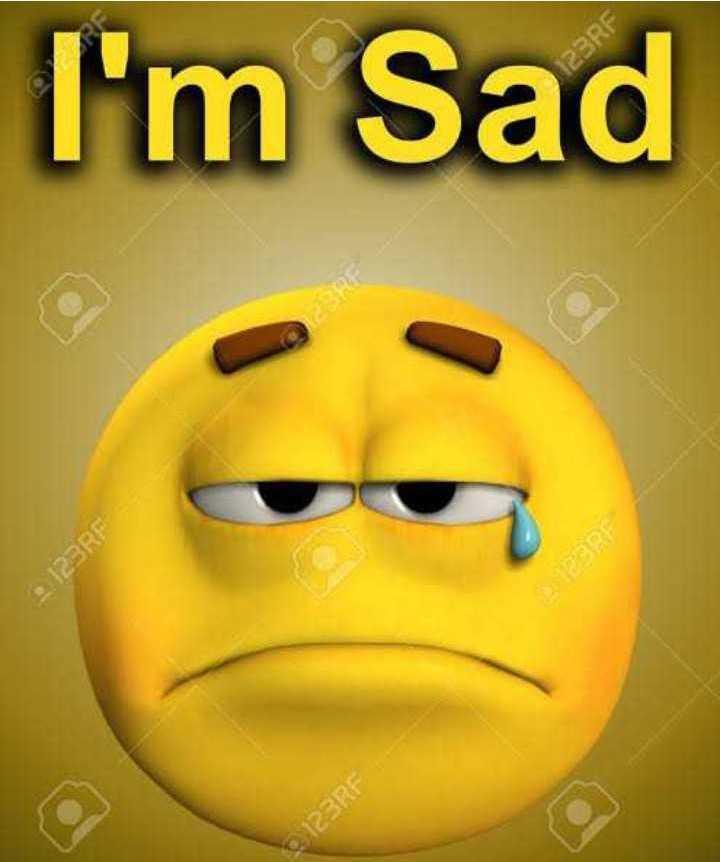 😃वर्ल्ड इमोजी डे😃 - 2 : 123RF 123RF I ' m Sad PERF - ShareChat