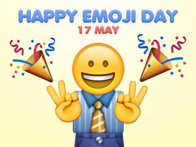 😃वर्ल्ड इमोजी डे😃 - HAPPY EMOJI DAY 17 MAY Yias - ShareChat