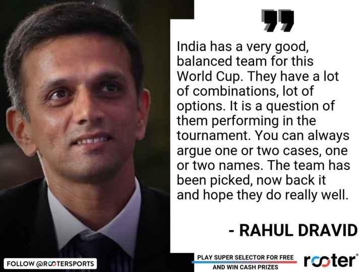 🏆 वर्ल्ड कप 2019: टीम का चयन 🏆 - ShareChat