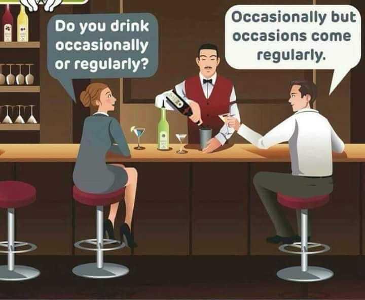 🌡वर्ल्ड मलेरिया डे - Do you drink occasionally or regularly ? Occasionally but occasions come regularly . - ShareChat