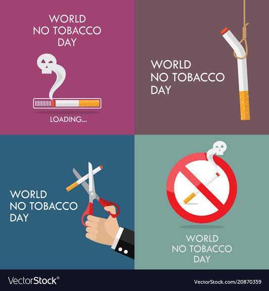 🚭विश्व ध्रूमपान निषेध दिवस - WORLD NO TOBACCO DAY WORLD NO TOBACCO DAY LOADING . . . WORLD NO TOBACCO DAY WORLD NO TOBACCO DAY VectorStock VectorStock . com / 20870359 - ShareChat