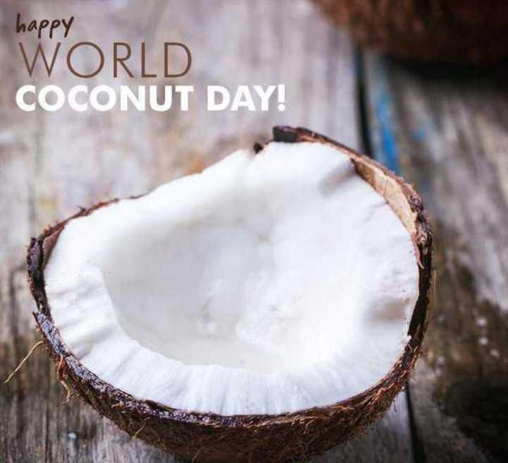 🙏 विश्व नारियल दिवस - happy WORLD COCONUT DAY ! - ShareChat