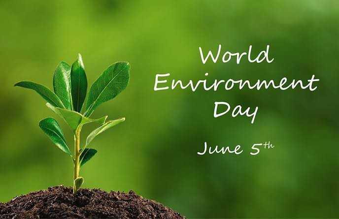 🌍विश्व पर्यावरण दिवस - World Environment Day June 5th - ShareChat
