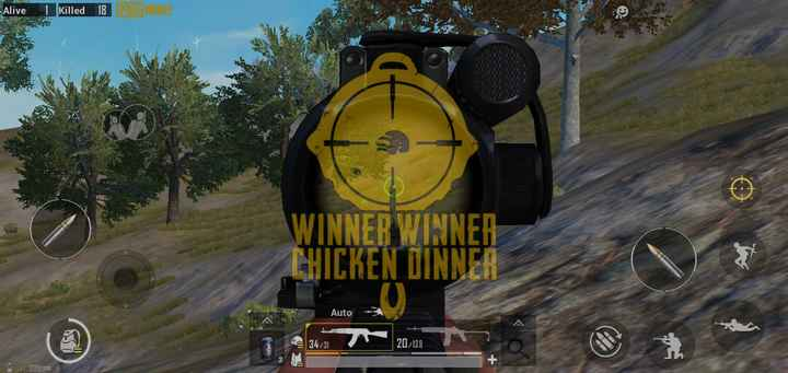 🧠 विश्व ब्रेन ट्यूमर दिवस - Alive 1 Killed 18 WINNER WINNER CHICKEN DINNER Auto IM 34 / 31 20 / 139 S m 11 208 ms - ShareChat