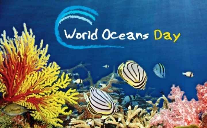 🌊विश्व महासागर दिवस - ShareChat