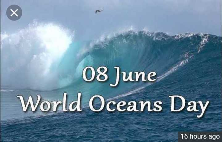 🌊विश्व महासागर दिवस - 08 June World Oceans Day 16 hours ago - ShareChat