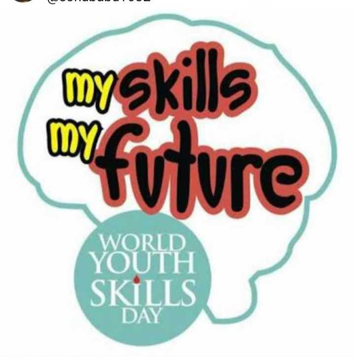 विश्व युवा कौशल दिवस - Co myskills myfuture WORLD YOUTH SKILLS - ShareChat