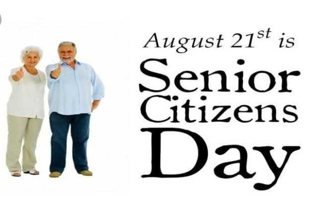 👴🏽👵🏽 विश्व वरिष्ठ नागरिक दिवस - August 21st is Senior Citizens A Day - ShareChat