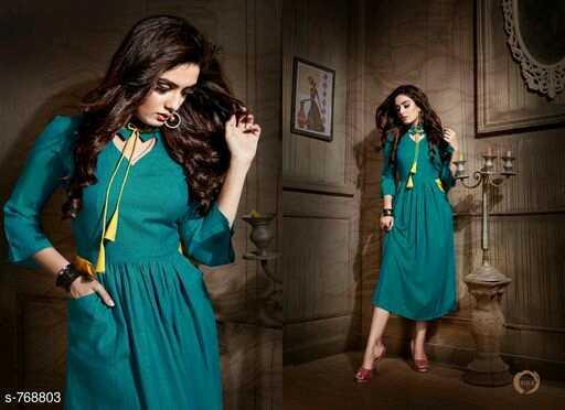 👗वेस्टर्न ड्रेस - S - 768803 - ShareChat