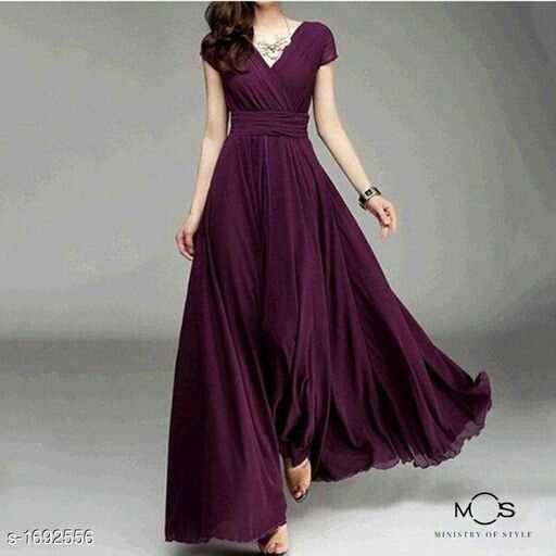 👗वेस्टर्न ड्रेस - MS S - 1692556 MINISTRY OF STYLE - ShareChat