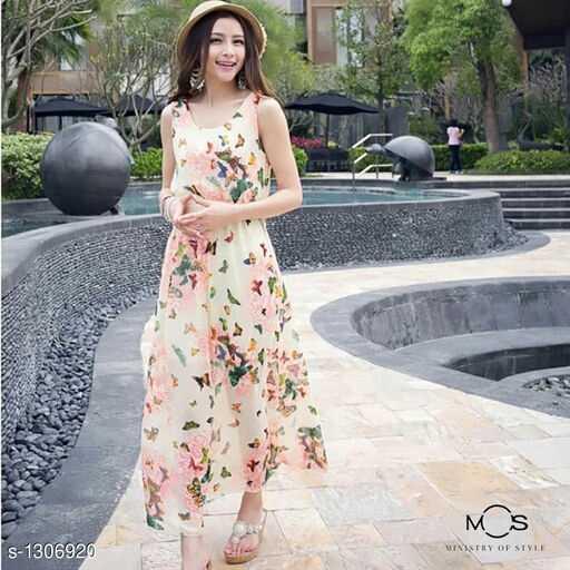👗वेस्टर्न ड्रेस - MS S - 1306920 MINISTRY OF STYLE - ShareChat