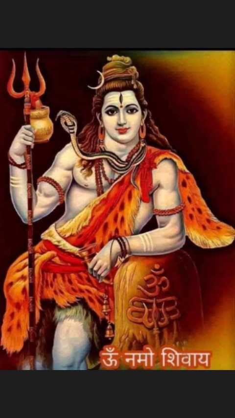 🎴 शंकर वॉलपेपर - ऊँ नमो शिवाय - ShareChat