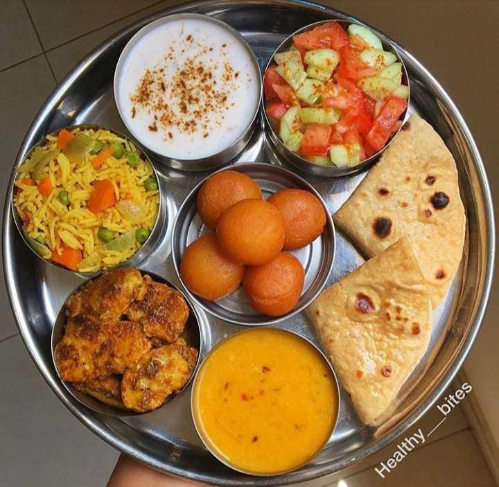 🥗 शुद्ध शाकाहारी भोजन - Healthy _ _ bites - ShareChat