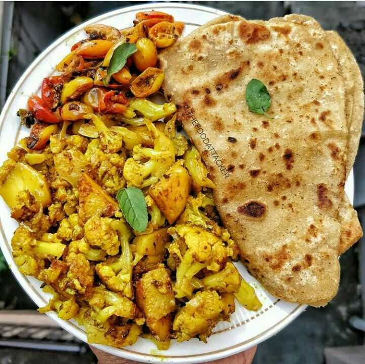 🥗शुद्ध शाकाहारी भोजन - THEFOODATTACKER - ShareChat