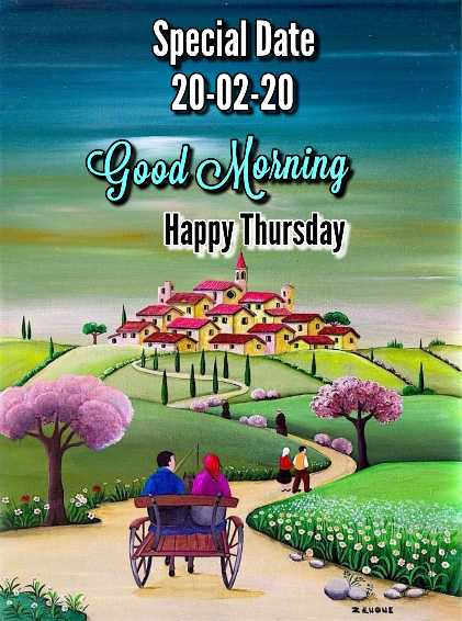 🌸 शुभ गुरुवार - Special Date 20 - 02 - 20 Good Morning Happy Thursday 2 & NONE - ShareChat
