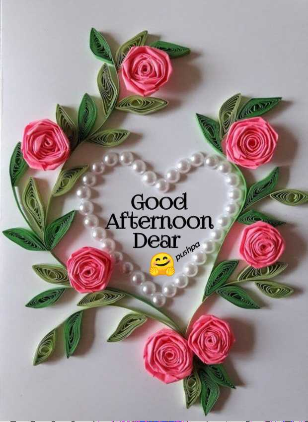 🕛 शुभ दोपहर☺ - > > DI Good Afternoon Dear pushpa - ShareChat