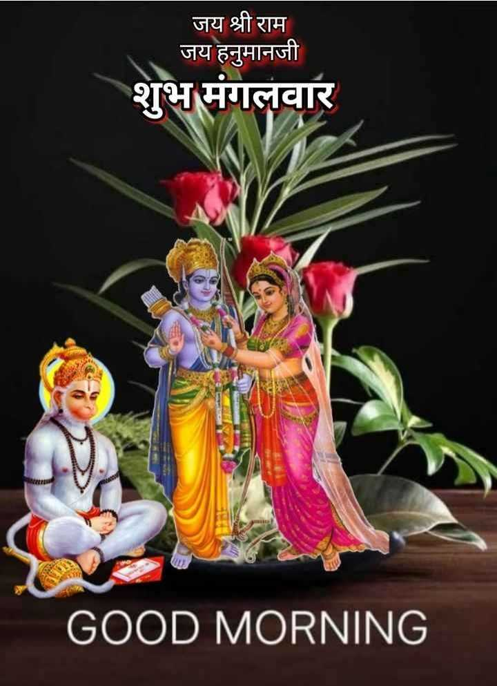 🌷शुभ मंगलवार - जय श्री राम जय हनुमानजी शुभ मंगलवार GOOD MORNING - ShareChat