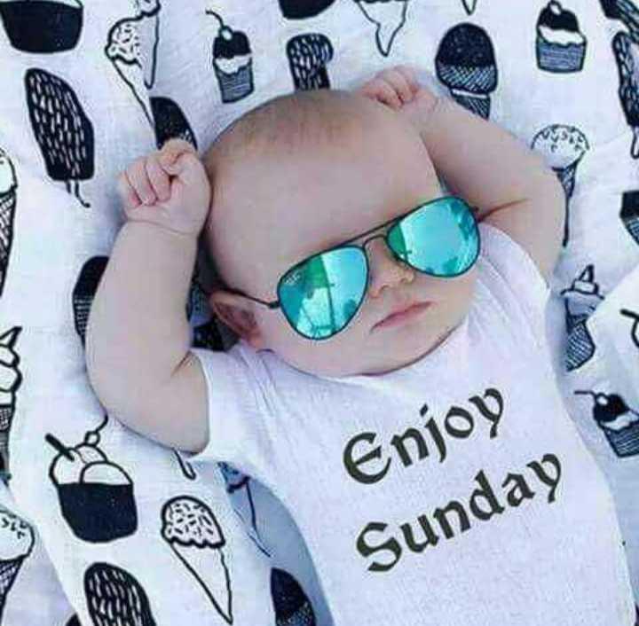 🌷शुभ रविवार - seau Enjoy Sunday - ShareChat