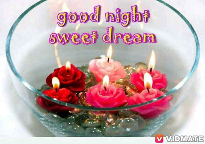 🌙शुभरात्रि - good night sweer dream V VIDMATE - ShareChat