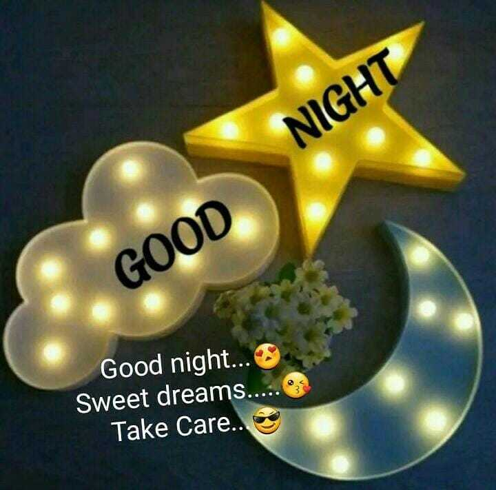 🌙शुभरात्रि - NIGHT GOOD Good night . . . Sweet dreams . . . . . Take Care . . - ShareChat