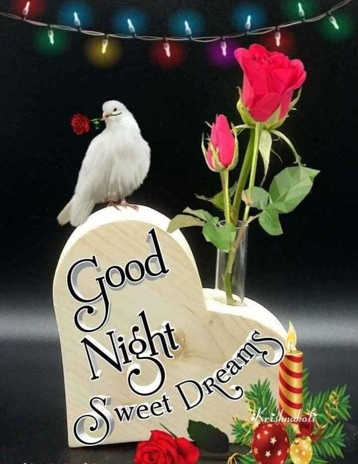 🌙 शुभरात्रि - good Night ms ) weet Dreat Srishnarola - ShareChat