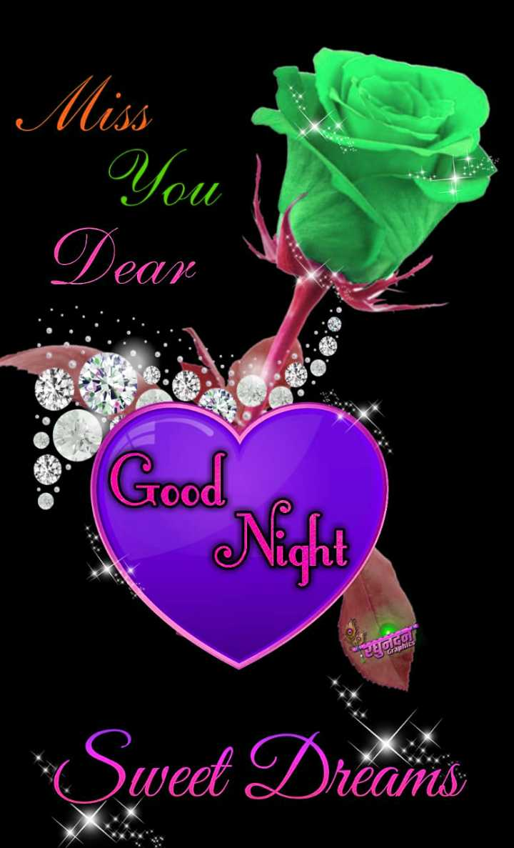 🌠  शुभरात्रि - Miss You | Dear Good lht IeYou Sweet Dreams - ShareChat
