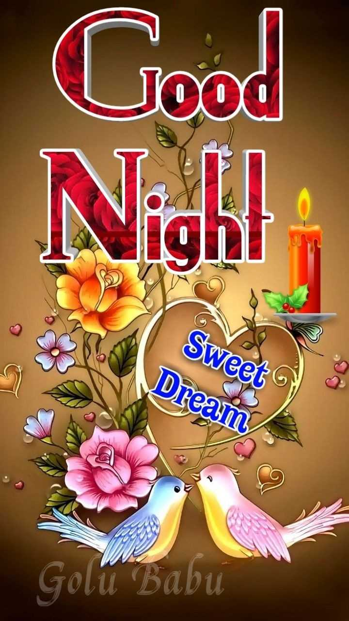 😴शुभ रात्री - Good Nigh ! Sweet Dream Golu Babu - ShareChat