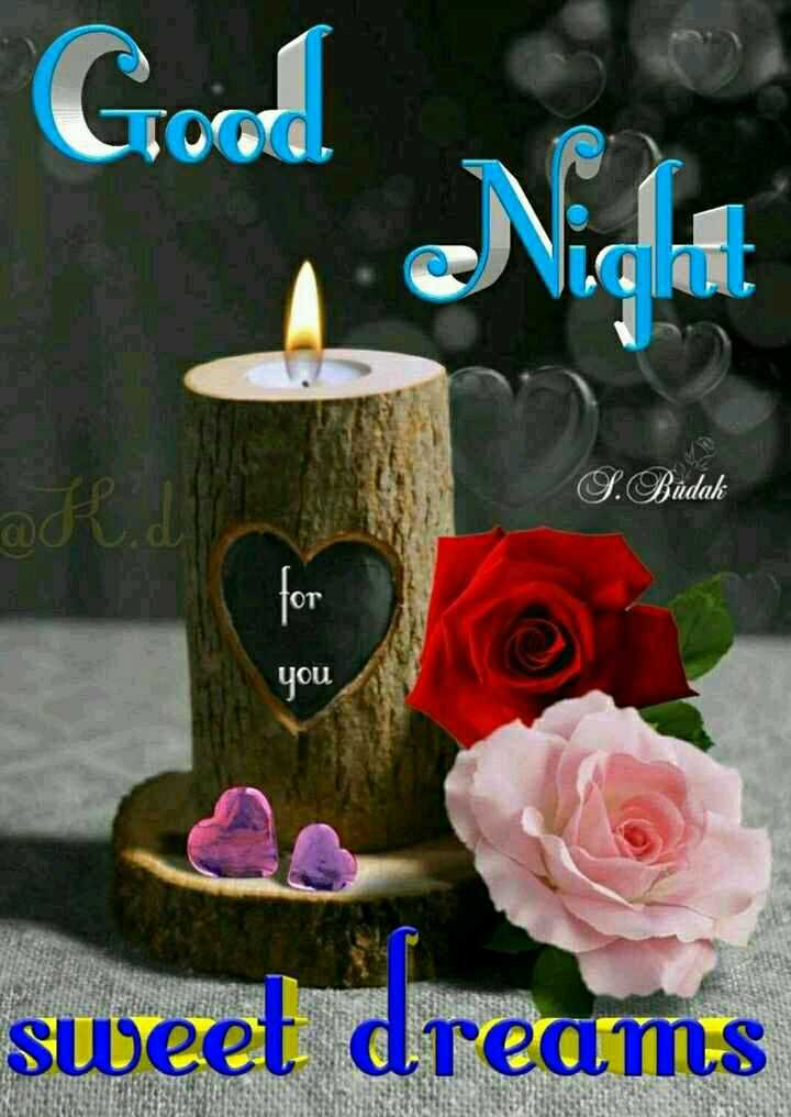 😴शुभ रात्री - Good S . Budak for you sweet dreams - ShareChat